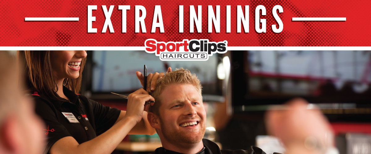 The Sport Clips Haircuts of Palm Crossing Extra Innings Offerings